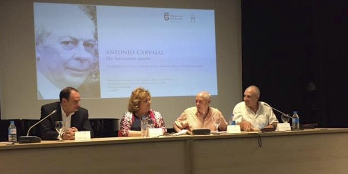 """""""Los ciclos vitales"""" de Diputación y Entorno Gráfico homenajean al poeta Antonio Carvajal"""