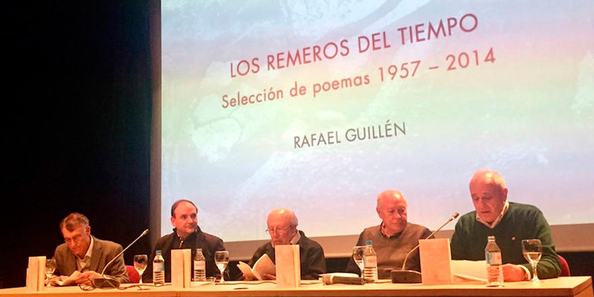 Rafael Guillén y Antonio Carvajal presentan dos antologías dedicadas a Granada