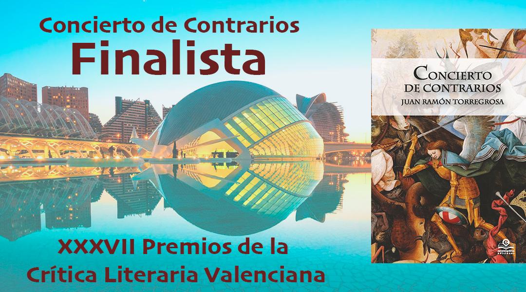 Una obra de Entorno Gráfico ediciones nominada a los XXXVII Premios de la Crítica Literaria Valenciana