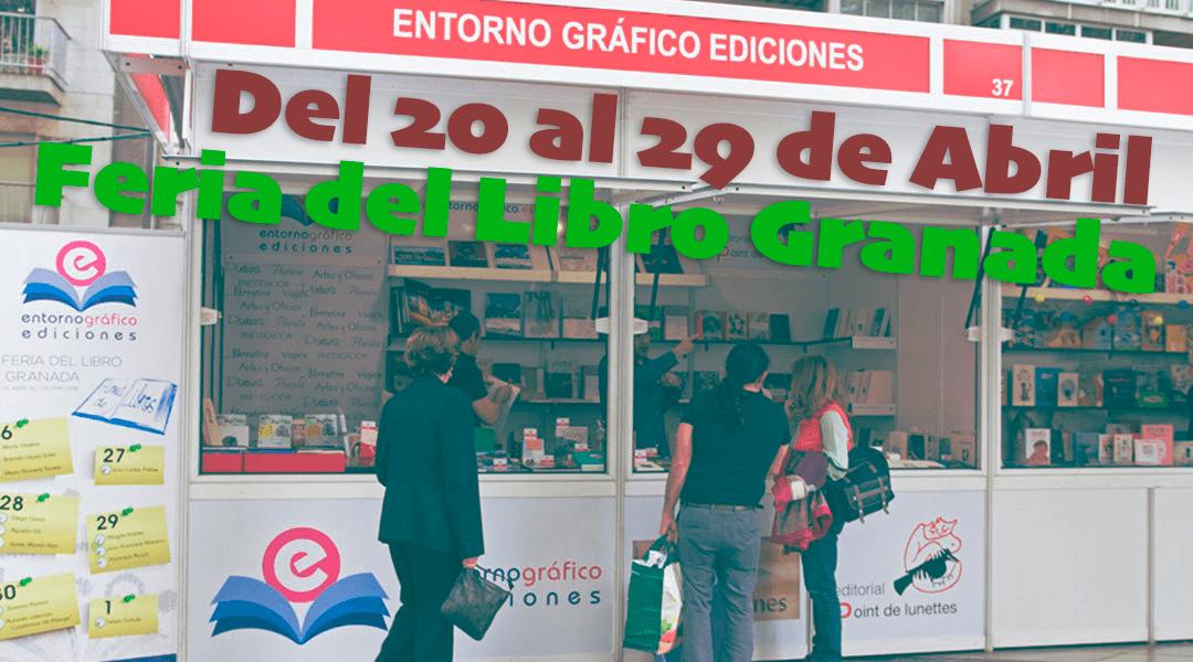 Entorno gráfico en la feria del libro Granada