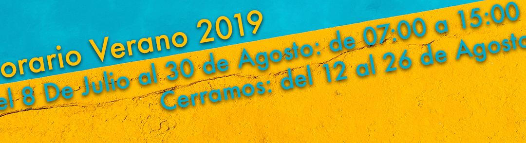 Verano 2019: Horario especial y vacaciones
